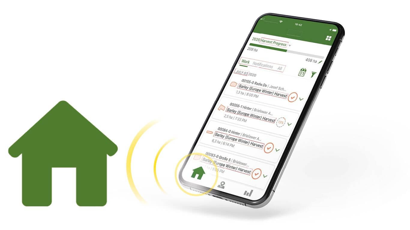Track Jobs & Send data wirelessly