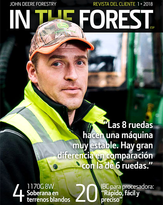 In The Forest 1/2018 customer magazine's cover