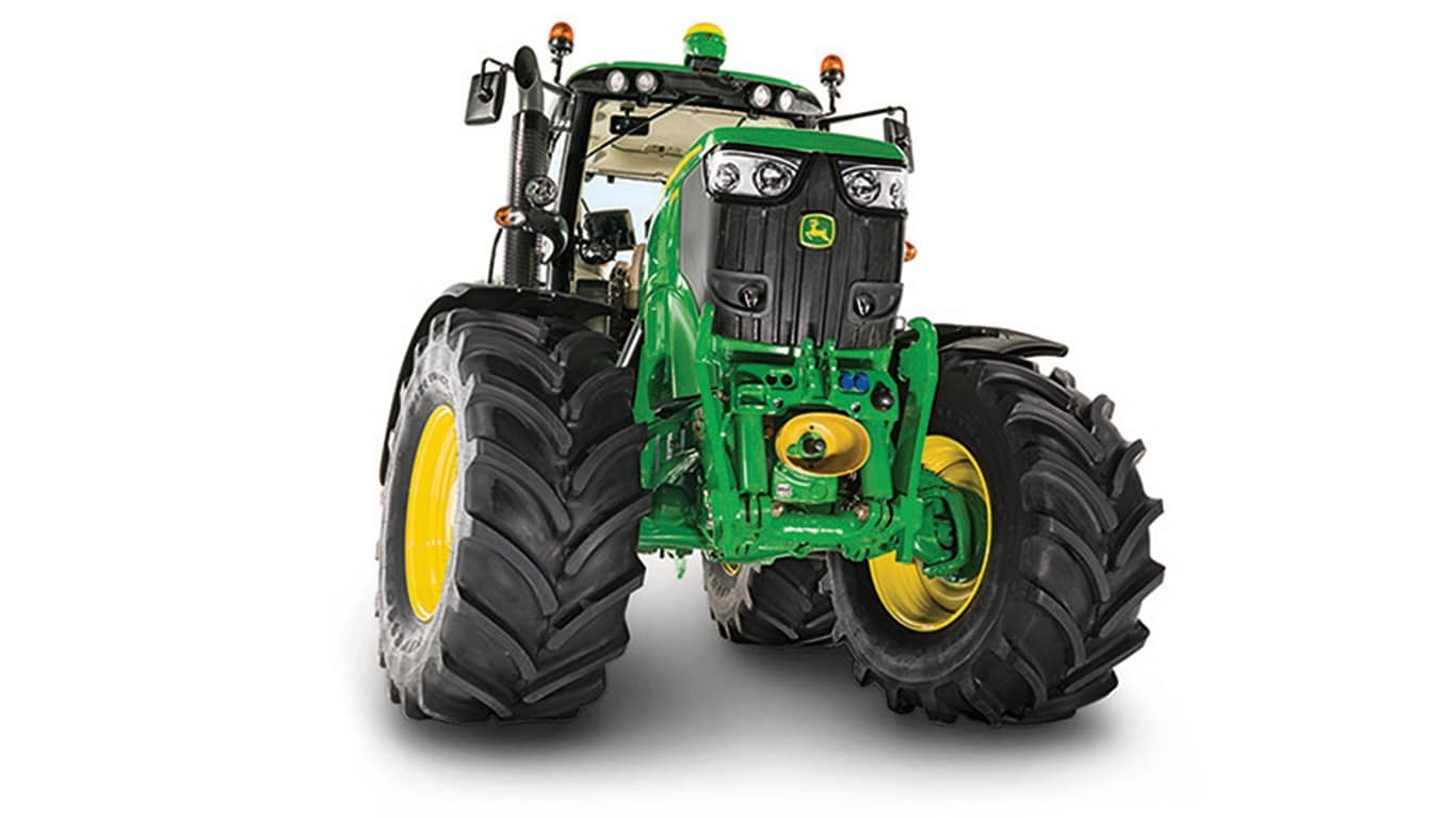 Enganche frontal y TDF frontal John Deere