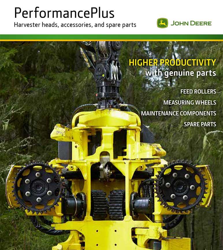 Catálogo de piezas de repuesto y accesorios para el cabezal de cosechadoras PerformancePlus