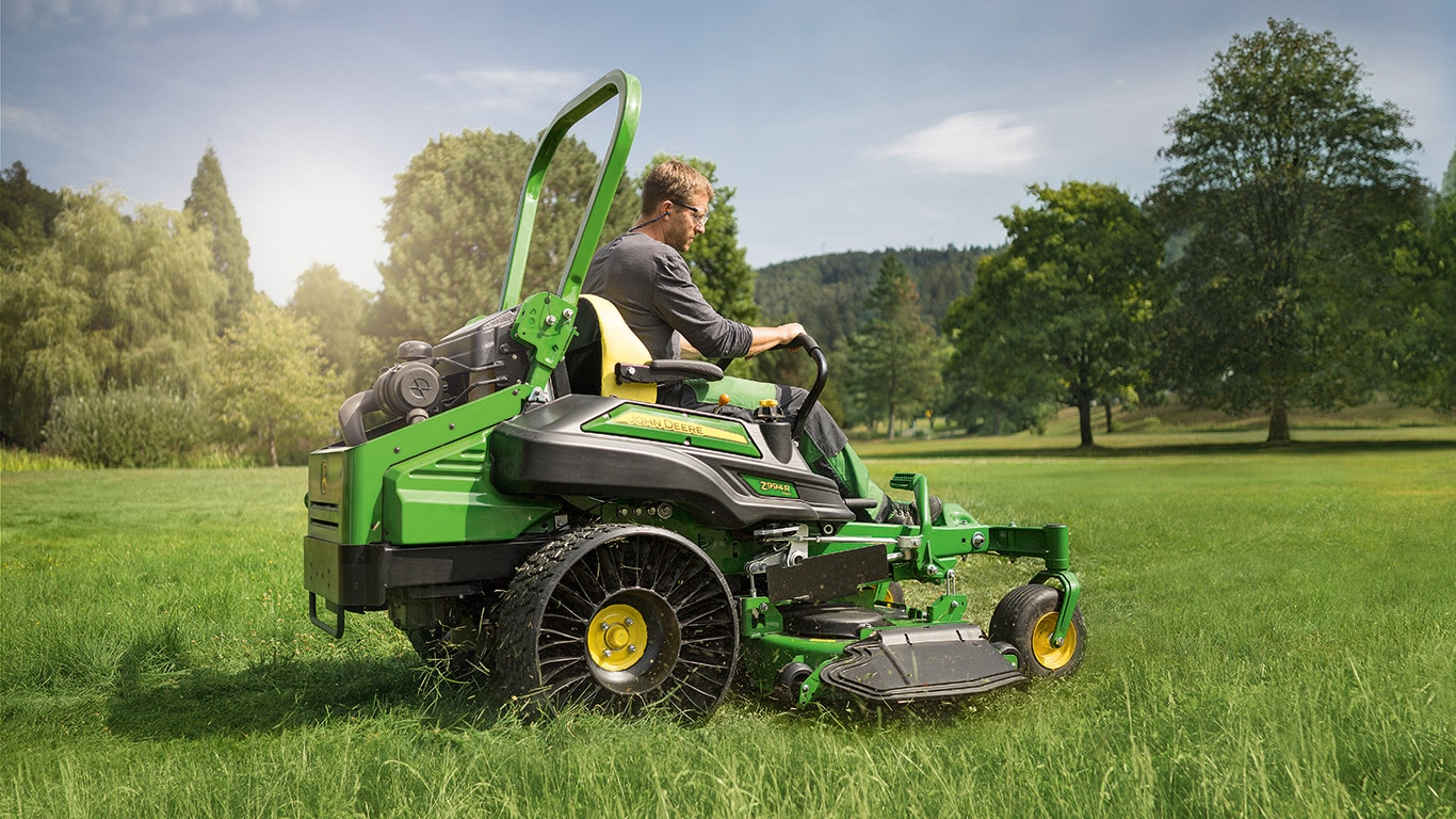Z994R, jardinería profesional, serie Z900R, cortacéspedes de giro cero