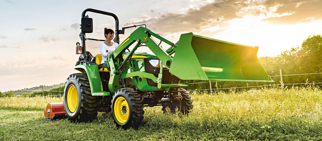Serie 3, Tractores utilitarios compactos